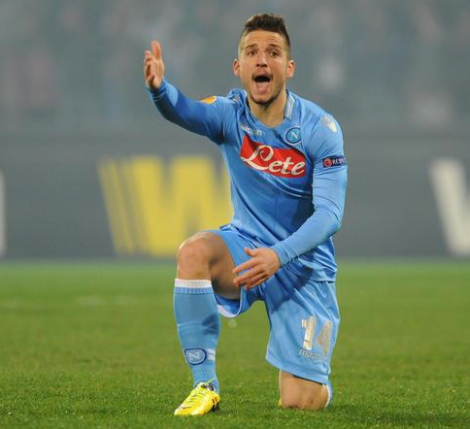 Dries Mertens rygtes til Premier League