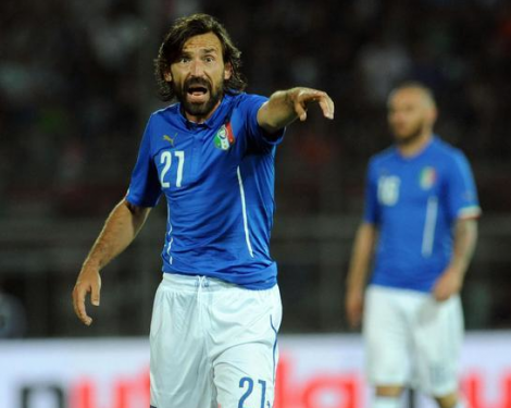 Andrea Pirlo taler ud