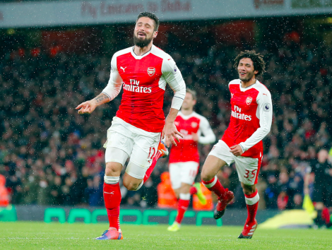 100 Arsenal-mål for Giroud – Se dem her