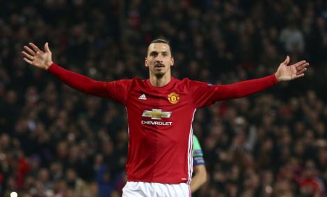 Zlatan forgyldes i United