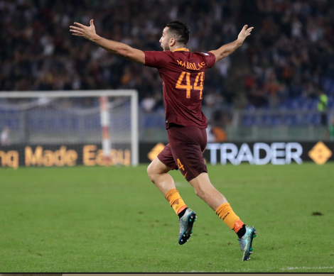 Startopstillinger: AS Roma - Benevento