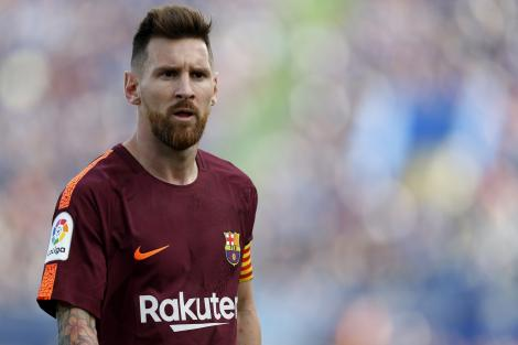 - Barça skal give os Messi!